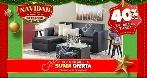 Promocin de Navidad Muebles Jamar 40 de descuento en