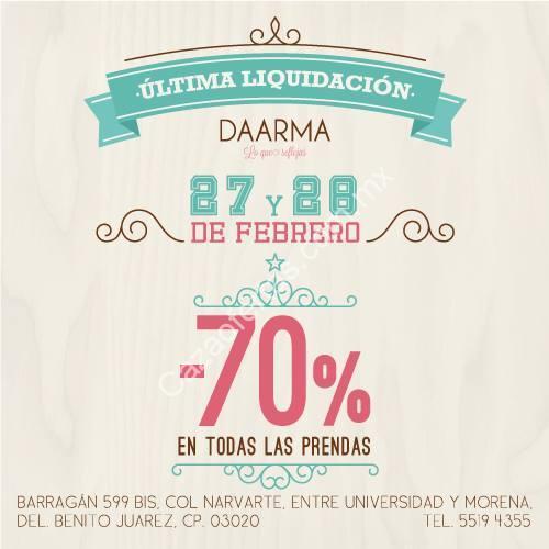 Over 100,000 english translations of spanish words and phrases. Venta de liquidación Daarma 27 y 28 de febrero: Todas las