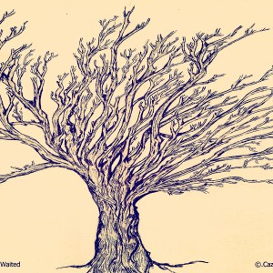 The Tree where I waited by Cazartco