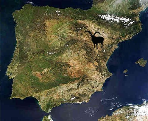 beceite ibex map