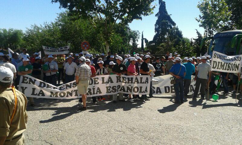 Manifestación Toledo rehlas 2014