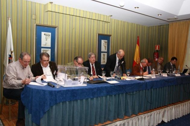 mesa presidencial Asamblea Constituyente RFEC