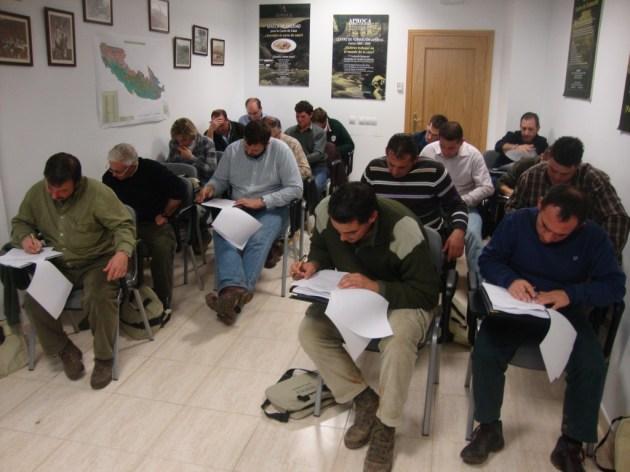 alumnos recibiendo formación en el Centro de Formación de Aproca