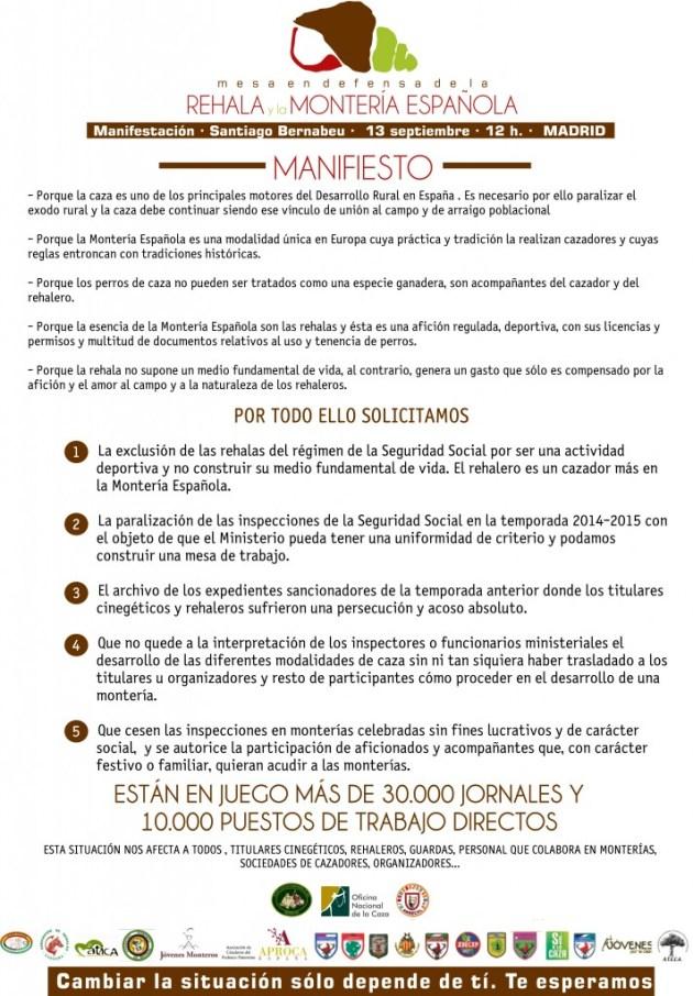 manifesto rehalas