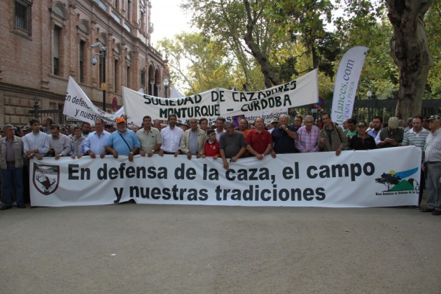 cabecera manifestación sevilla 27 de septiembre