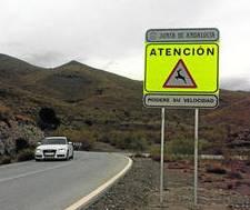 accidentes carretera fauna ciervos tráfico señal