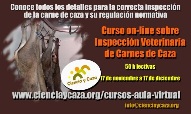 CURSO INSPECCIÓN CARNE DE CAZA CYC 2014