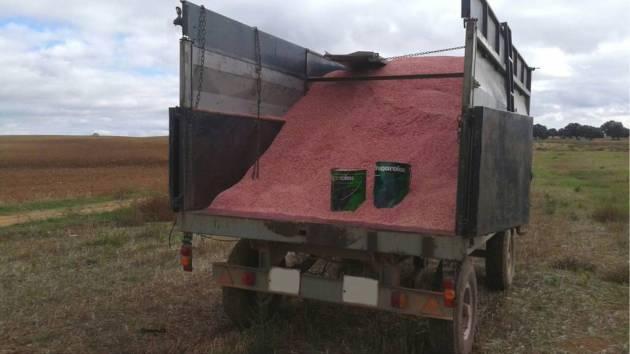 camion con semillas blindadas © IREC