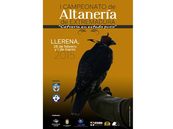 R_Cartel I Campeonato Extremadura Altaneria
