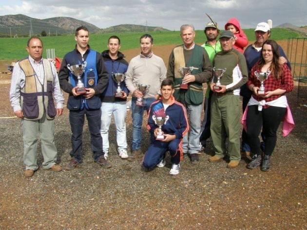 Campeones provinciales en Recorridos de Caza.