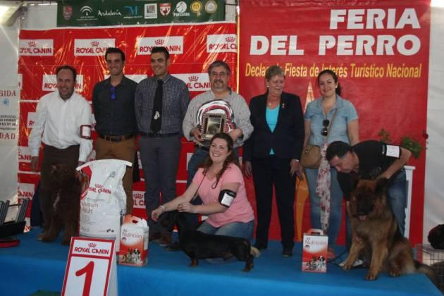 Ganadores del Concurso Nacional Canino.