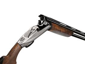 presentación escopeta 828 U de Benelli