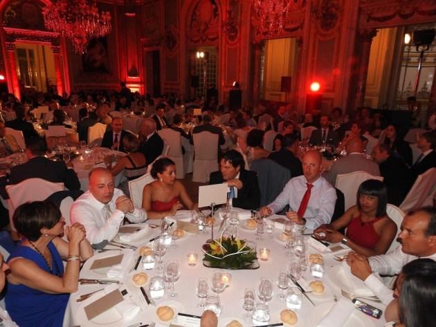 Gala de presentación  de la escopeta 828 U de Benelli en el Casino de Madrid.