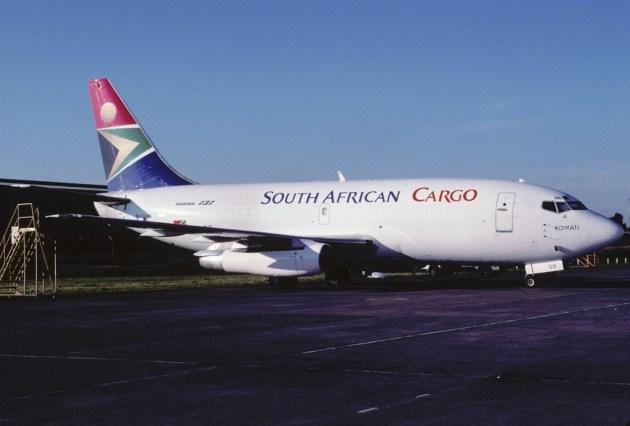 South African Airways avión