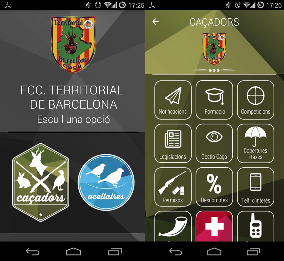 app federación catalana barcelona