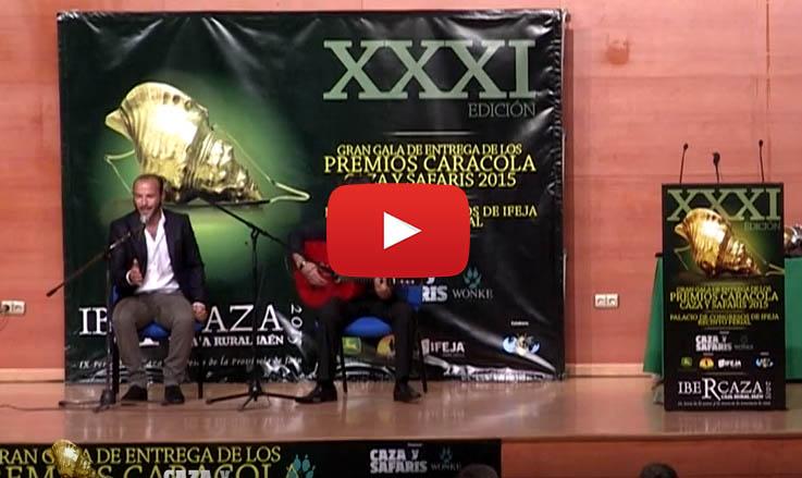 XXXI Gala de los Premios Caracola 2015, fandangos de montería