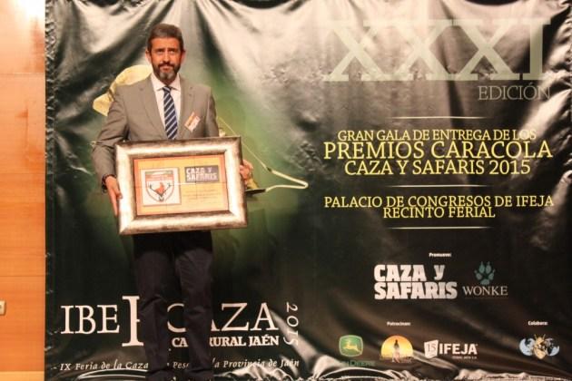 Premio Defensa de la Caza a la Federación Andaluza de Caza.