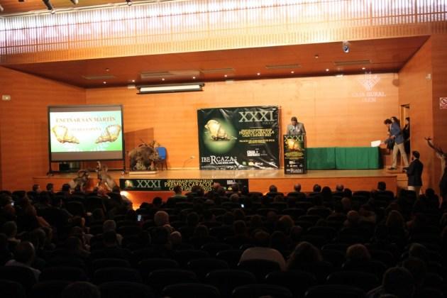 escenario premios caracola 2015