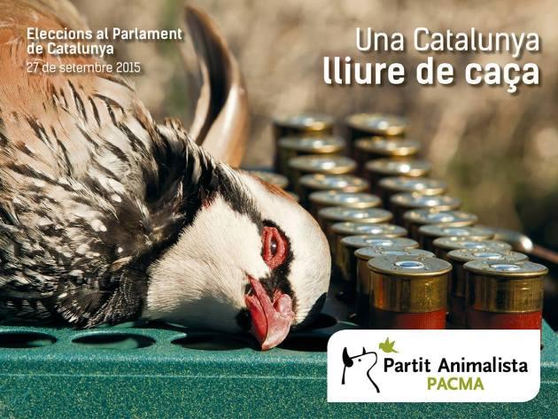 pacma caza en cataluña
