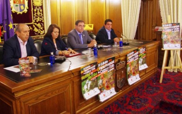 presentación feria caza y ocio, de Cuenca en Uclés