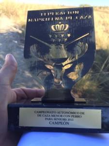 CAMPEONATO AUTONÓMICO CAZA MENOR CON PERRO 2015_2