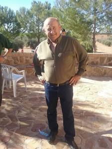 El campeón autonómico de veteranos, José Joaquín Cano Notario.