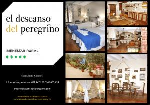¿Qué tal una escapada rural? Contacto: 687 447 229 / 646 463 495 info@eldescansodelperegrino.com