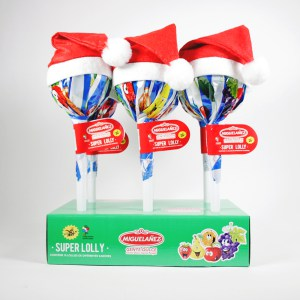 Para los más pequeños de la casa, Miguelañez presenta sus surtidos Navideños: Surtidos de bombones, super lolly, bolas navideñas...
