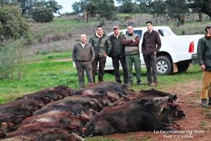 IMG_6399monteros encinasola - encomienda del moro - monteria