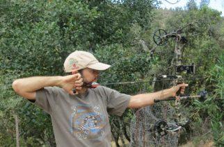 Esperas con arco y flechas: el guarro soñado