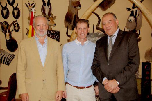 Luis López-Schümmer, Rafael Gamarra y José García Escorial