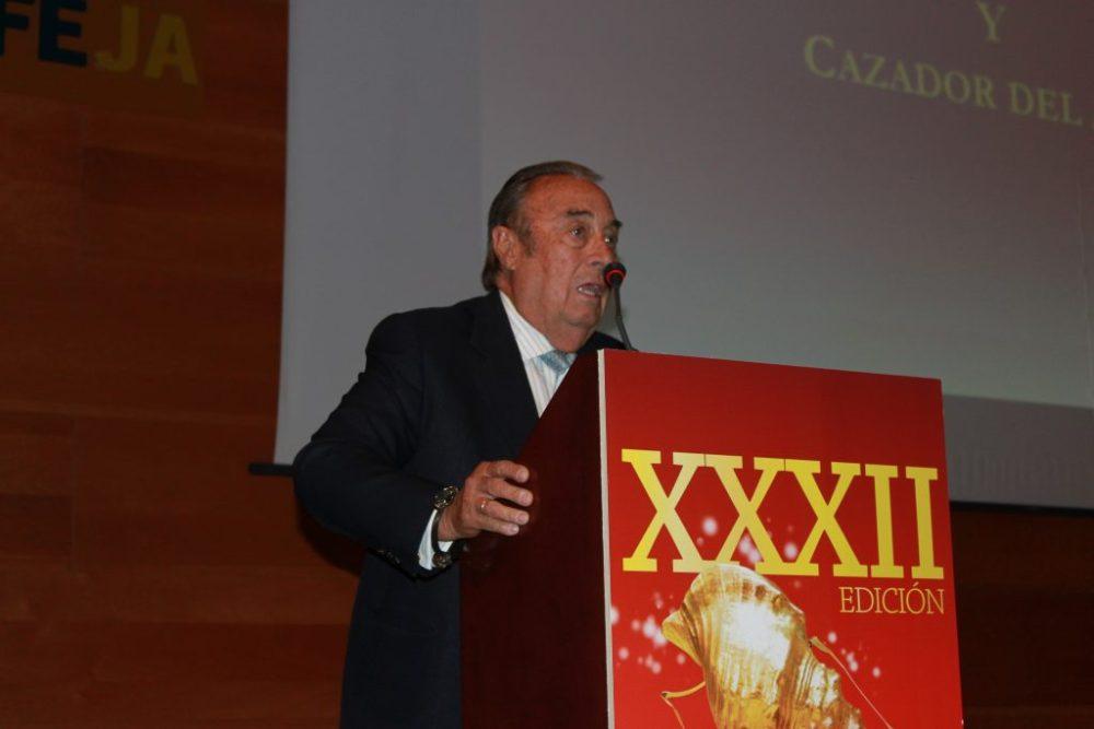 El presidente de Cega Multimedia, Dr. Marcial Gómez Sequeira, editora de la revista Caza y Safaris y del diario digital cinegético CazaWonke.