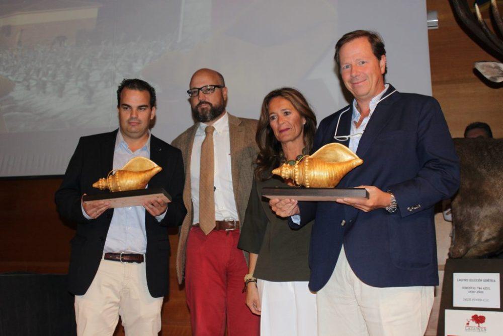 Caracola de oro a la mejor montería en abierto: 'Lugar Nuevo', organizada por Monterías Jaime Lozano.