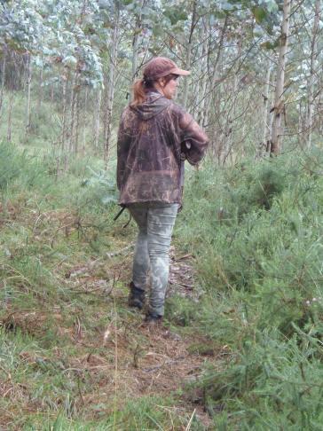 En la senda de Diana - cazadora