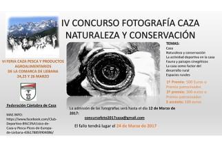 IV Concurso de Fotografía de la Feria de Caza de Liébana