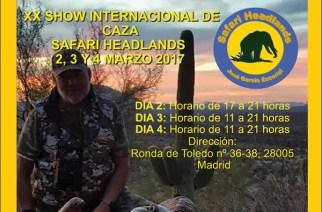 XX Show Internacional de Caza de Safari Headlands