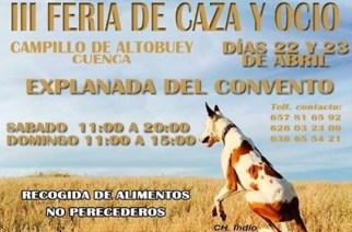 III Feria de Caza y Ocio en Campillo de Altobuey (Cuenca)