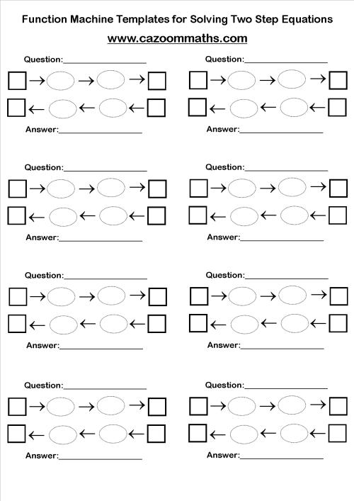 small resolution of Fun Algebra Teaching Resources   Free Printable PDF Downloads