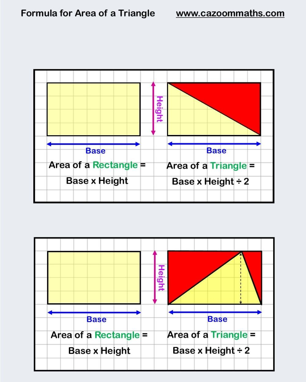 medium resolution of Area And Perimeter (Math Worksheets)   Cazoom Maths