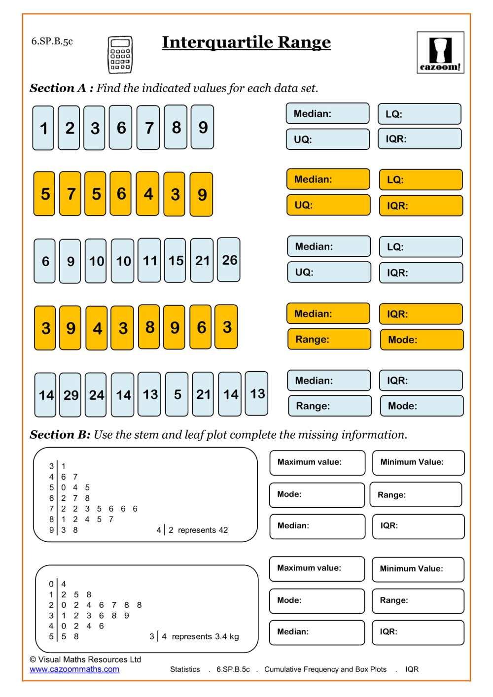 medium resolution of 6th Grade Math Worksheets   Printable PDF Worksheets