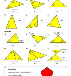 8th Grade Math Worksheets   Printable PDF Worksheets [ 2339 x 1654 Pixel ]