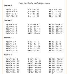 High School Math Worksheets   Math Worksheets PDF [ 2339 x 1654 Pixel ]