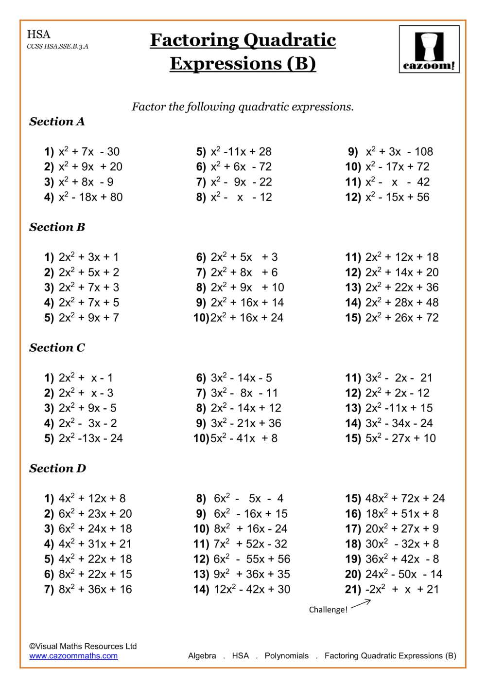 medium resolution of High School Math Worksheets   Math Worksheets PDF