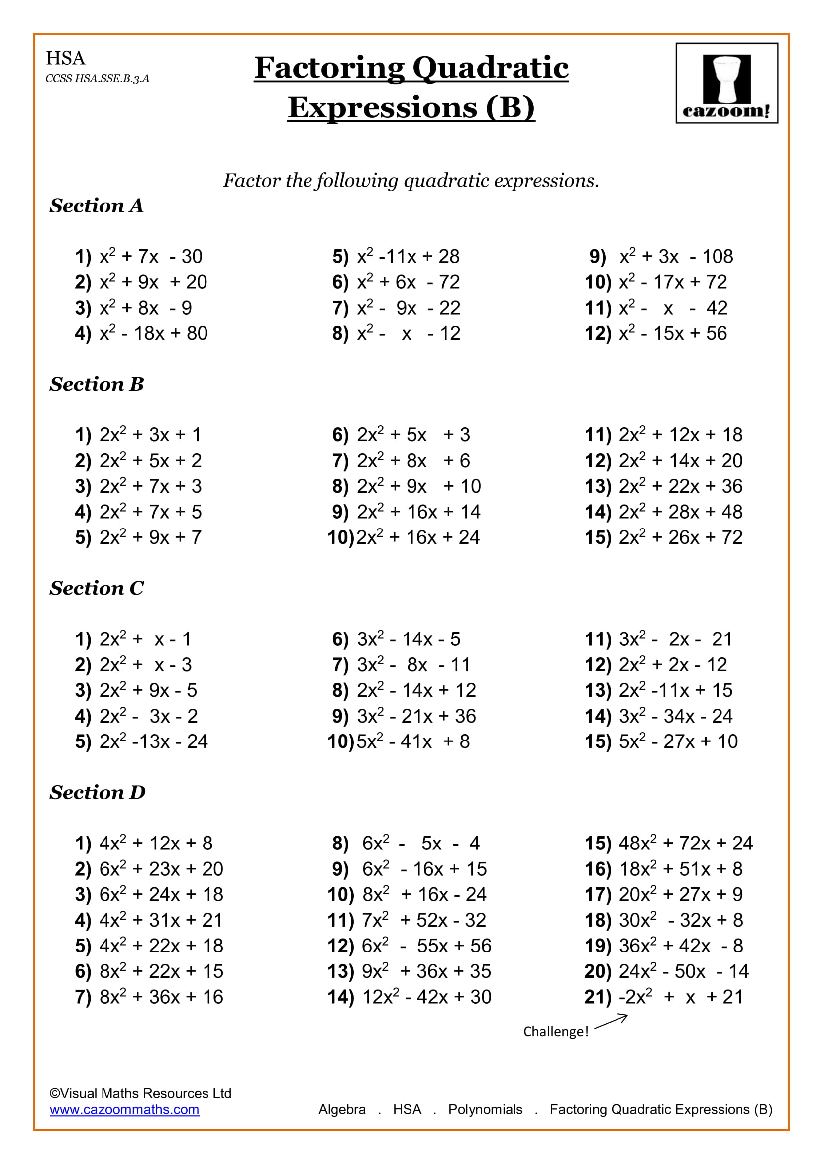 hight resolution of High School Math Worksheets   Math Worksheets PDF