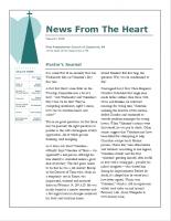 January 2018 Newsletter