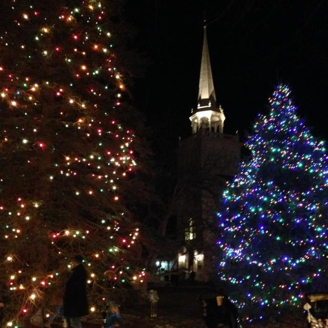 It was a beautiful night for the cazenovia christmas walkhellip