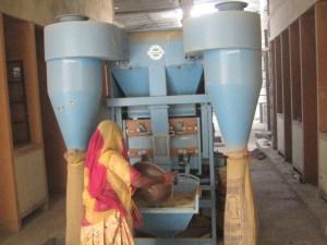 Seed processing unit at KVK, Pali