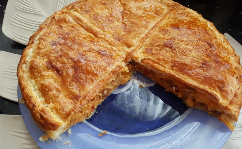 Webcocinar empanada online en familia para alegrar el confinamiento