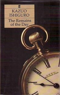 Remains of the DAy - Kazuo Ishiguro - Book Cover