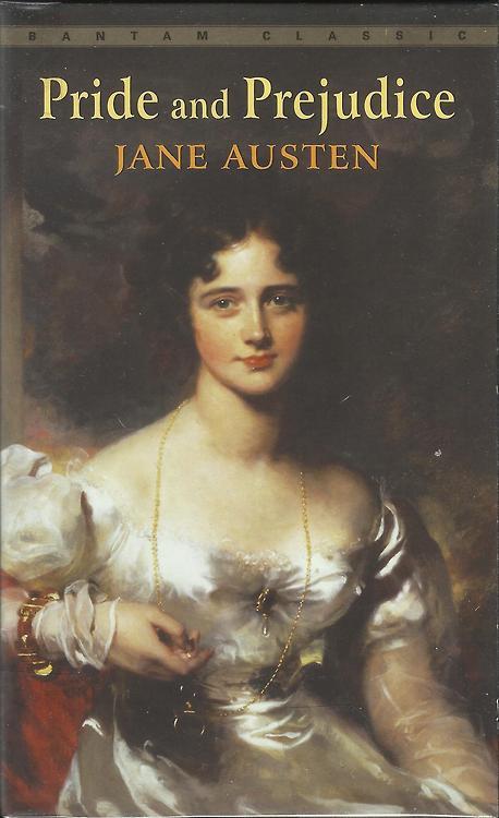 Pride and Prejudice - Jane Austen - Book Cover